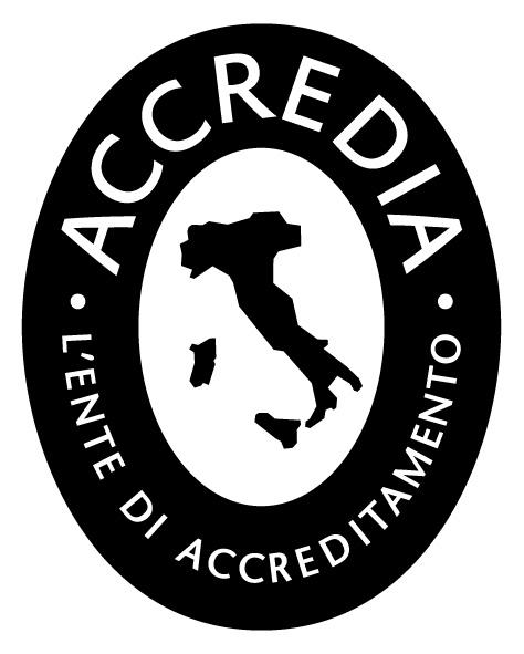 Marchio ACCREDIA Organizzazioni certificate_bn_150